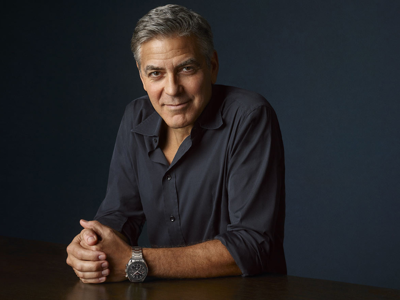 """George Clooney meets Buzz Aldrin in """"Starmen"""" the documentary by Omega Watches"""
