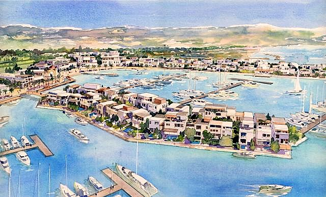 Pafilia to develop Pafos Marina and expands Minthis Hills