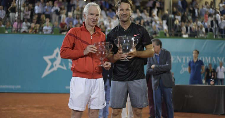 Moyá, champion in Marbella´s Seniors Masters Cup