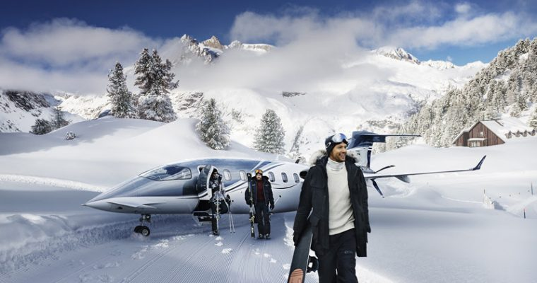 Arrive in the Alps in style with Victor Jets