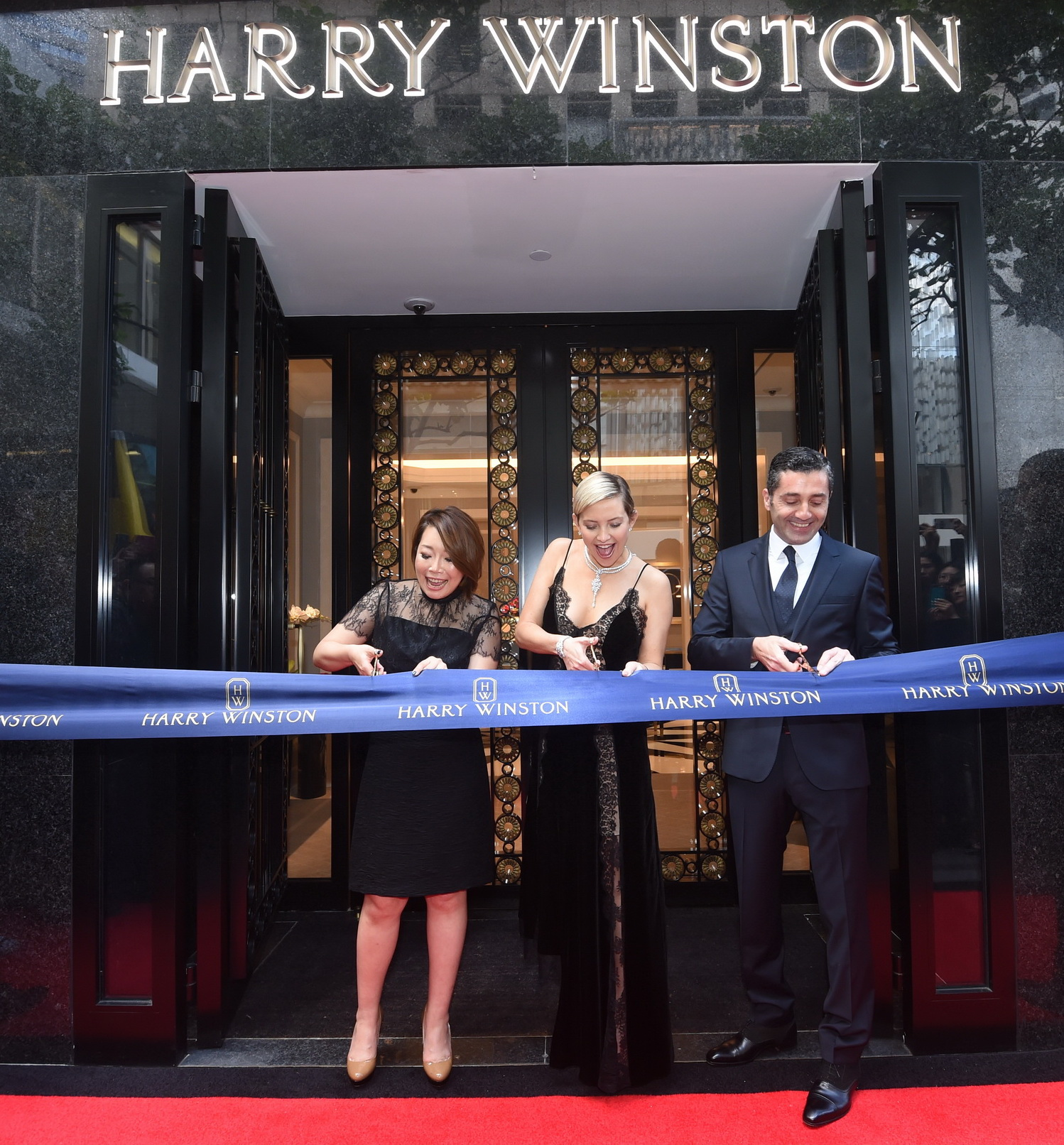 THE HOUSE OF HARRY WINSTON MANDARIN ORIENTAL HONG KONG SALON GRAND OPENING
