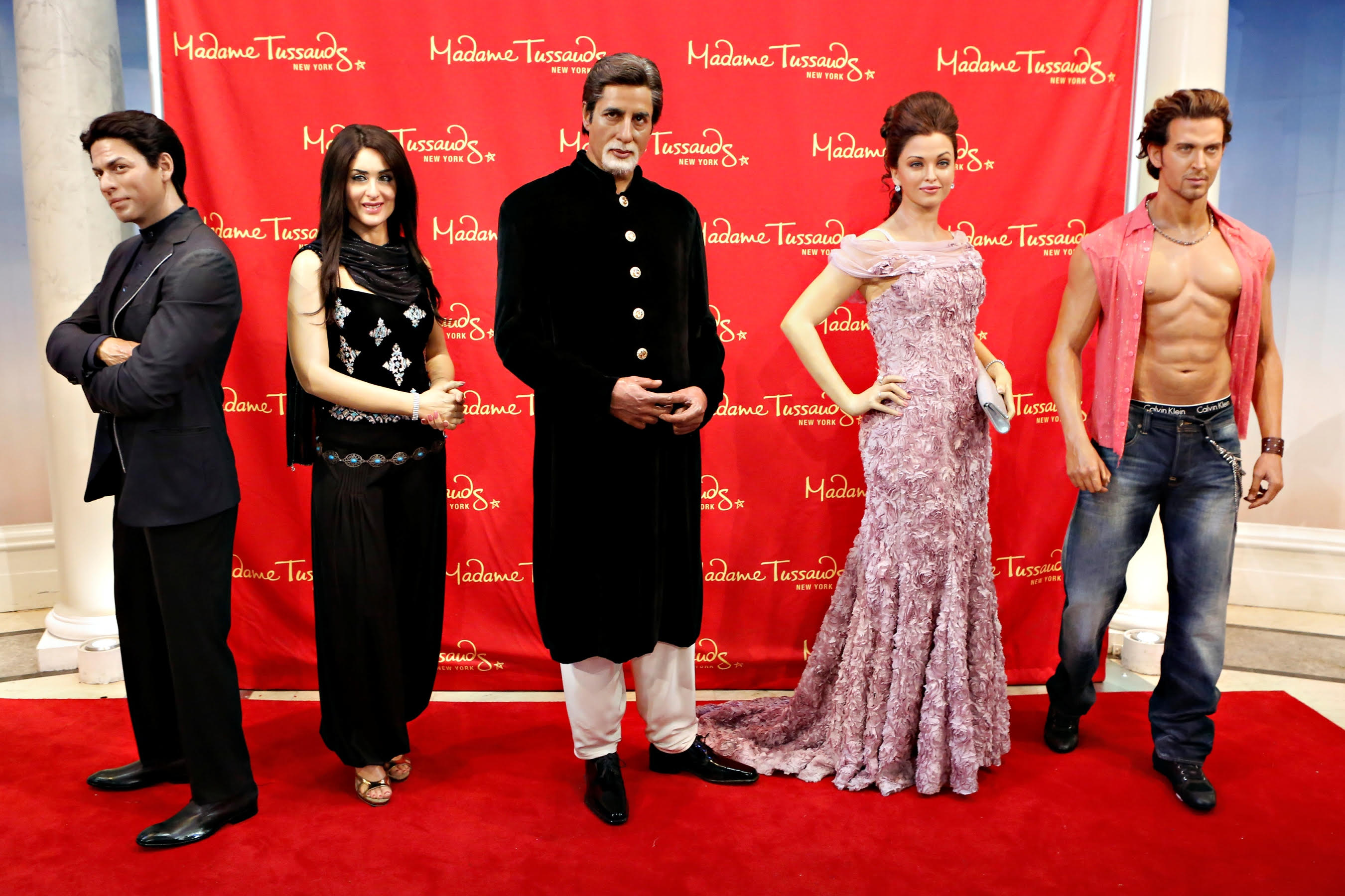 Madame Tussauds Brings Bollywood to Life in Times Square