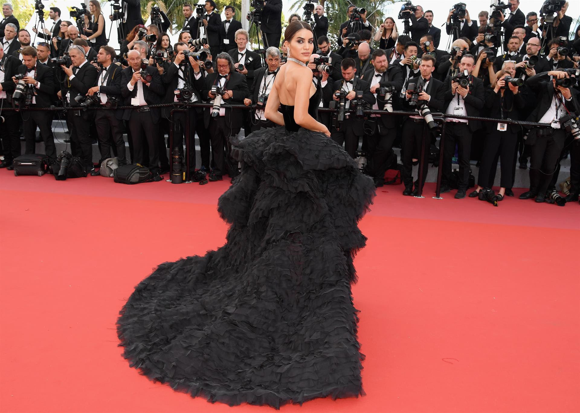 GLOBAL STYLE INFLUENCER, CAMILA COELHO, WEARS CUSTOM RALPH & RUSSO TO THE 71st ANNUAL CANNES FILM FESTIVAL OPENING CEREMONY