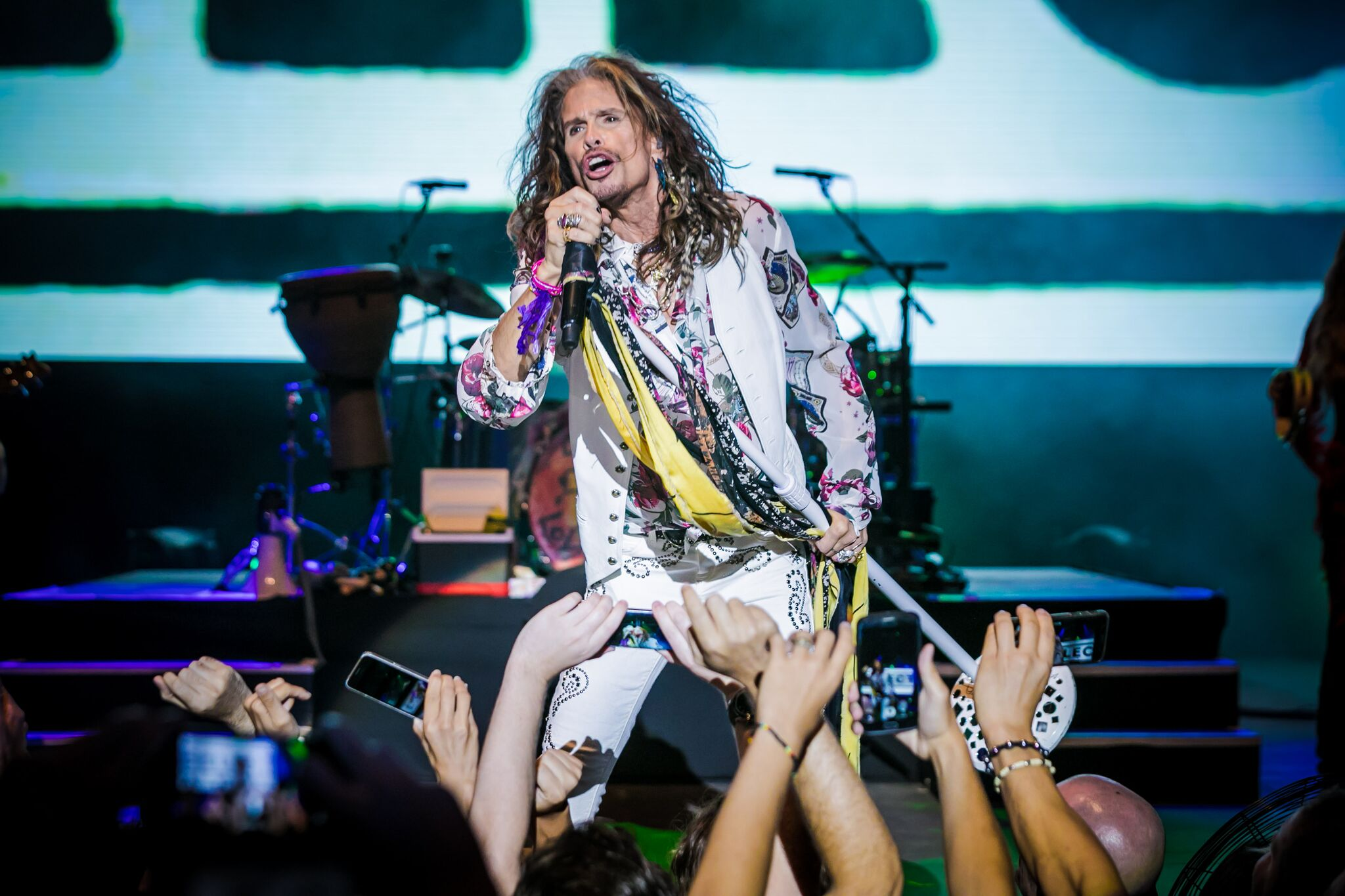Steven Tyler rocks the Starlite Festival
