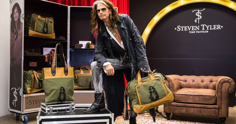 Iconic rock legend Steven Tyler creates his own brand exclusively with Starlite Shop