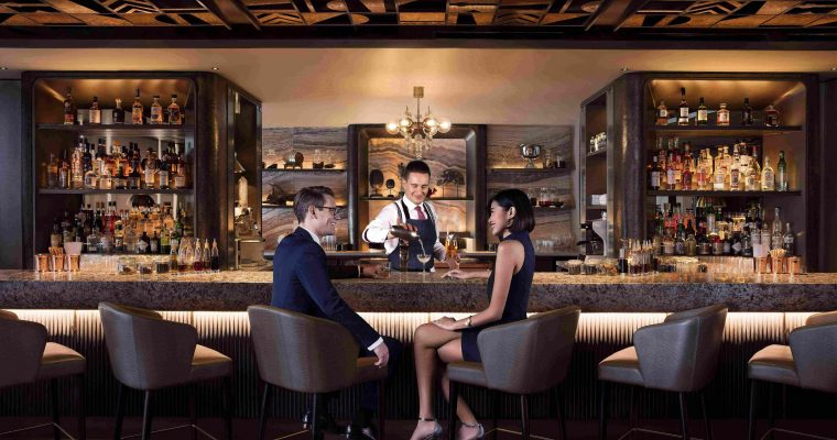 Chic New MO Bar Debuts at Mandarin Oriental, Singapore