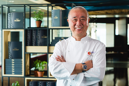 "Chef Nobu Matsuhisa Introduces the ""World of Nobu"" Cookbook at the Asia Launch with Chefs from the Asia Pacific Nobu Restaurants"