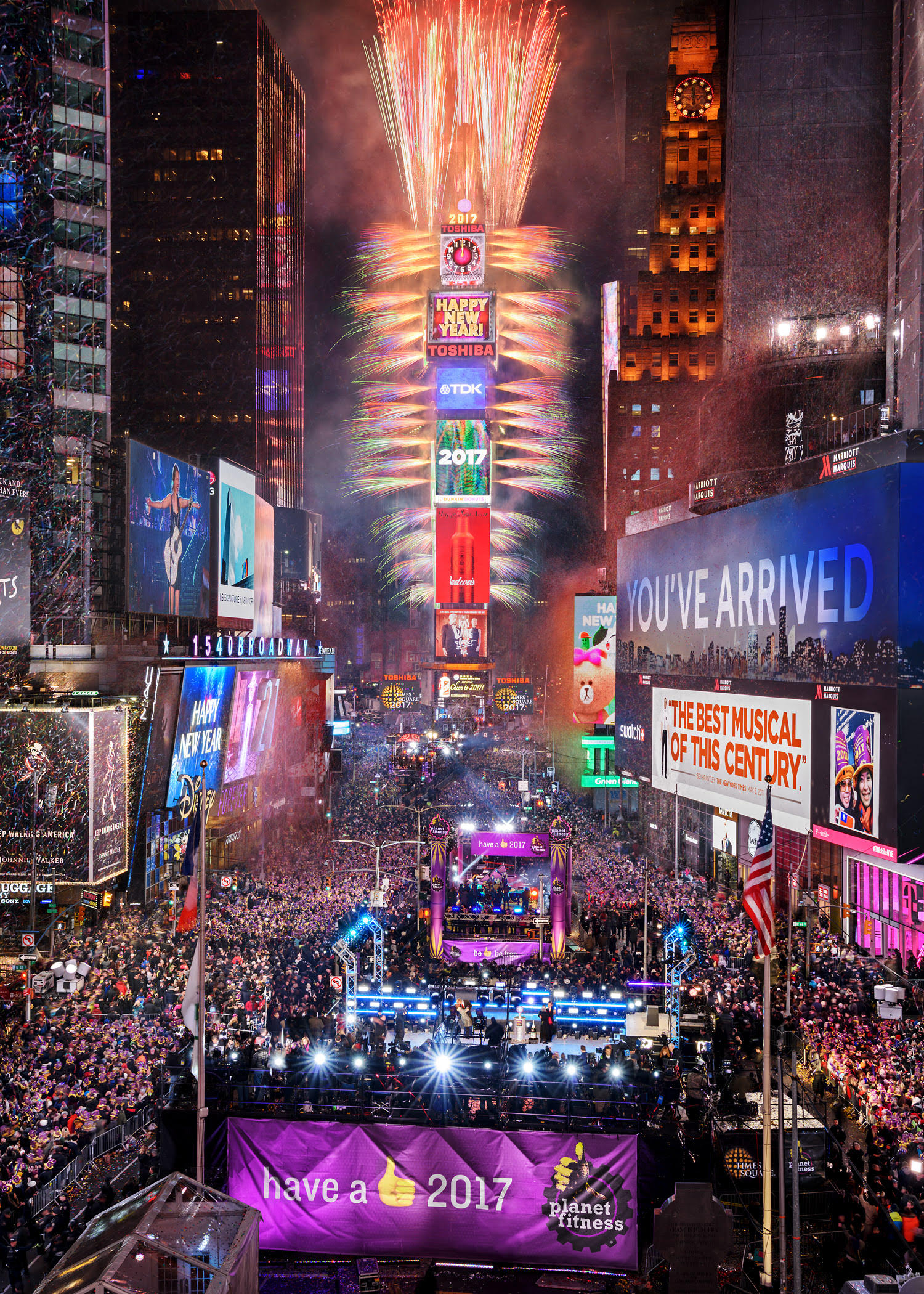 Experience New York City This New Year's Eve